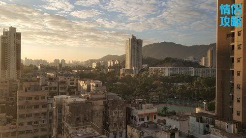 九龍城富豪東方酒店-日落景色