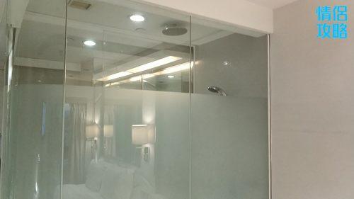 九龍城富豪東方酒店-浴室外牆