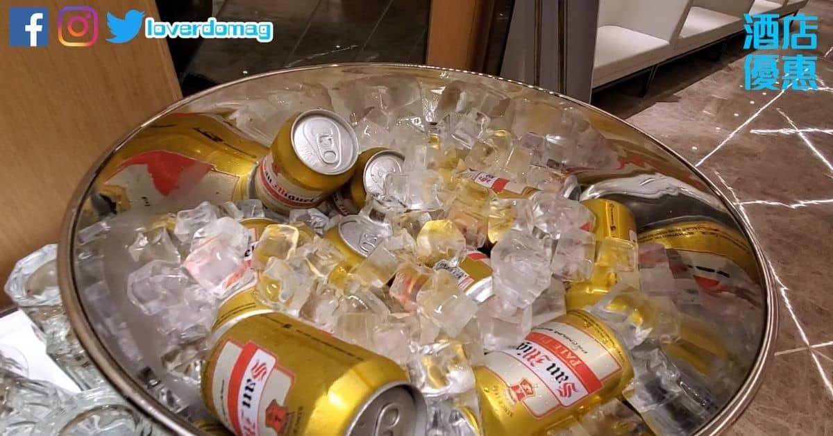 悅品酒店荃灣自助餐-啤酒