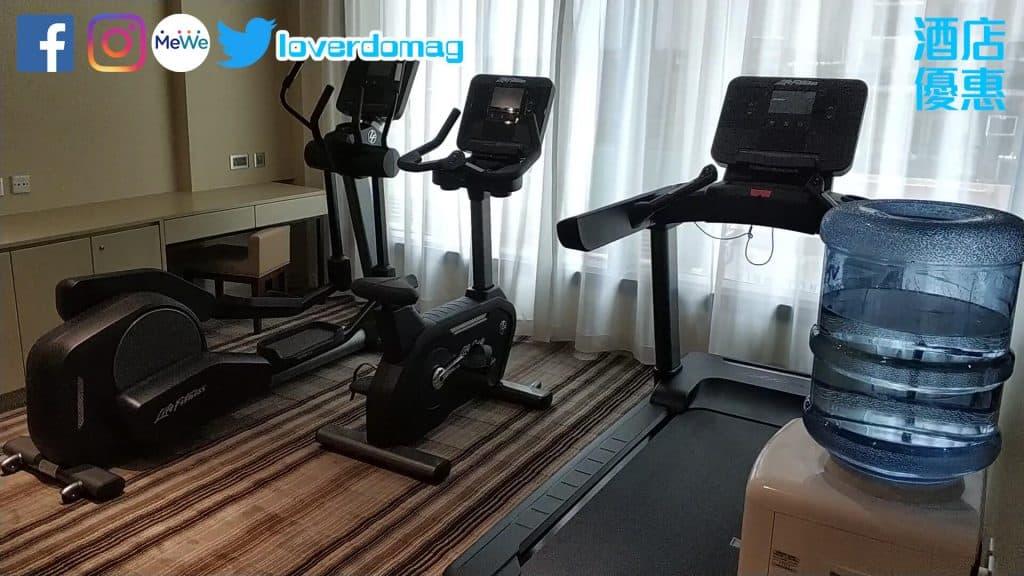 銅鑼灣頤庭酒店-健身室