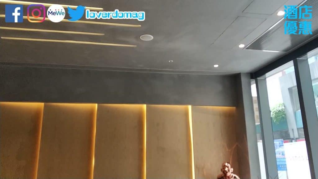 銅鑼灣頤庭酒店-大堂樓底高