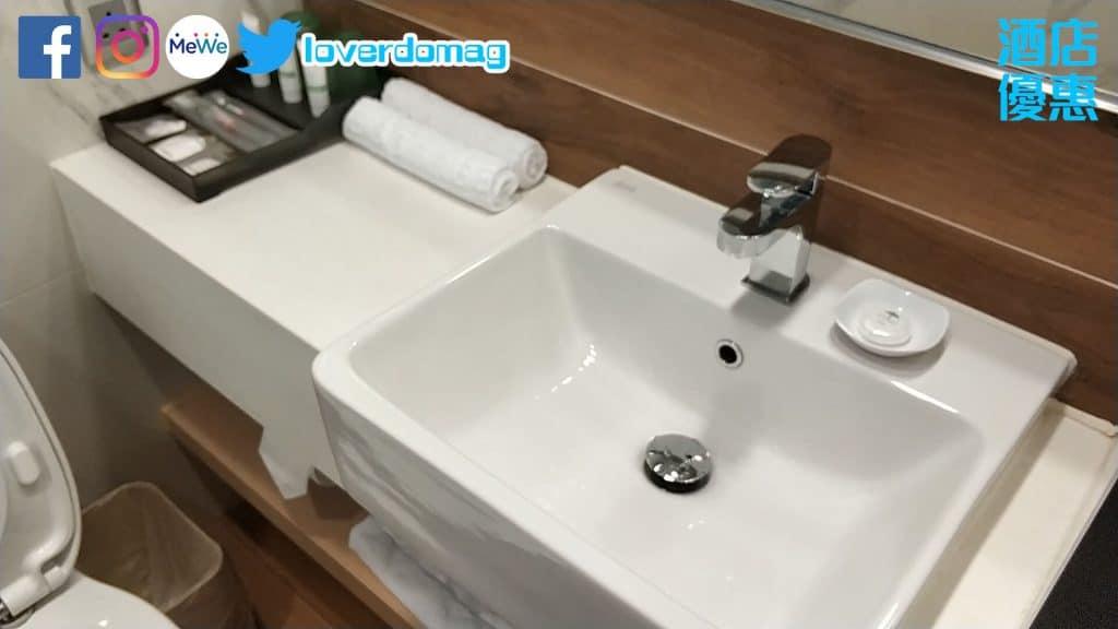 銅鑼灣頤庭酒店-洗手盤乾淨